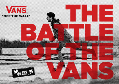 The Battle of the VANS