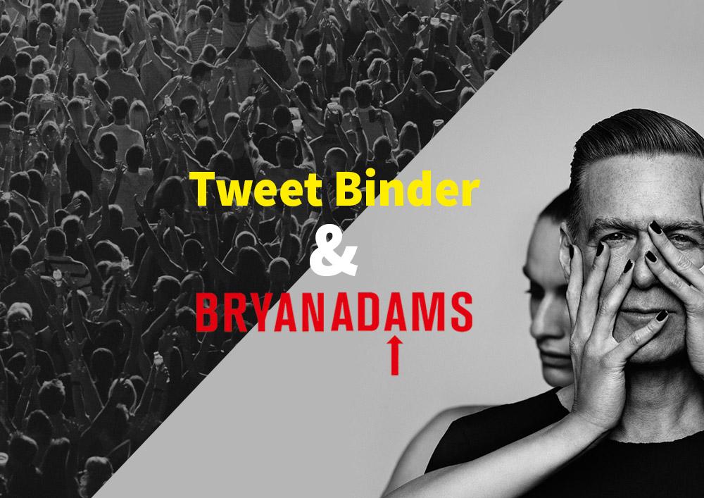 TweetBinder Bryan Adams